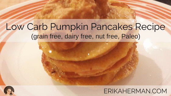 Low Carb Pumpkin Pancakes Recipe
