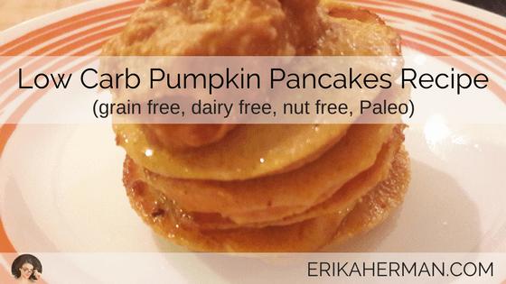 Low Carb Pumpkin Pancakes Recipe